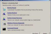 cara repair windows 7 tanpa cd