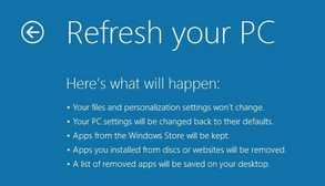 cara refresh windows 8 mudah