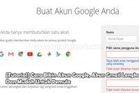 2 Cara Bikin Akun Google