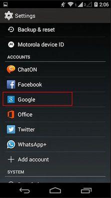 Cara Keluar dari Akun Google Android