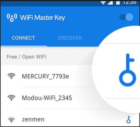 Menggunakan Aplikasi Wi-Fi Master Key