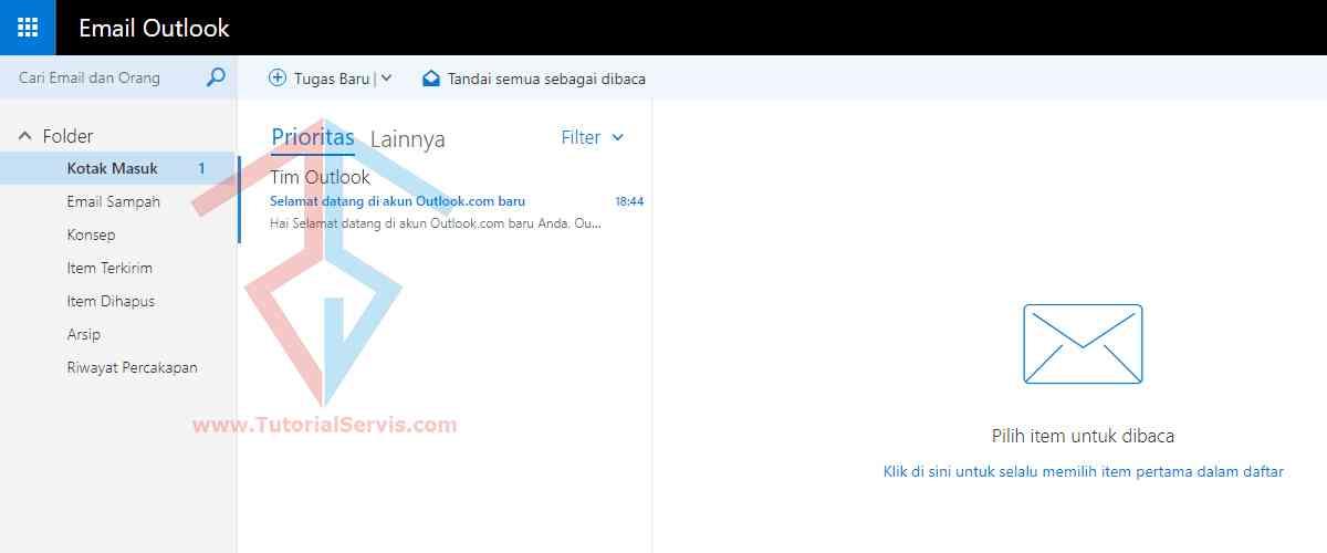 membuat email microsoft