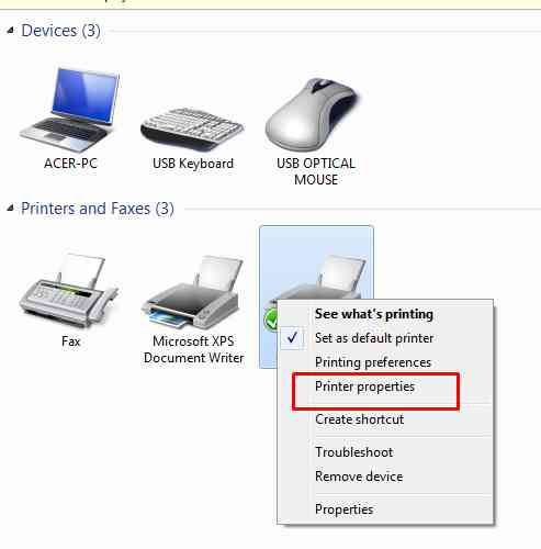 cara sharing printer windows 7 dengan wifi