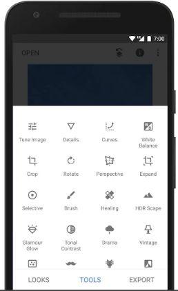 Snapseed Aplikasi Editi Foto Kekinian