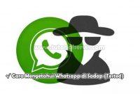 Cara Mengetahui Whatsapp di Sadap