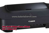 cara instal printer canon ip2770