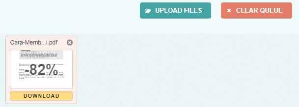 cara mengecilkan ukuran file pdf dengan pdfcompressor