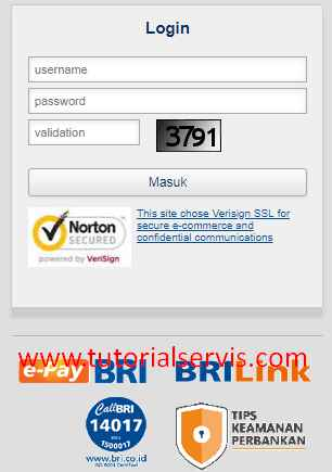 login internet banking bri
