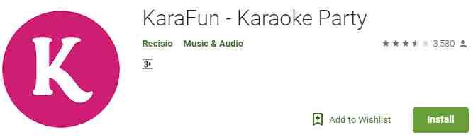 Aplikasi KaraFun-Karaoke Singing