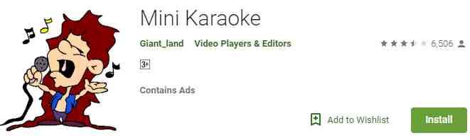 Aplikasi Mini Karaoke