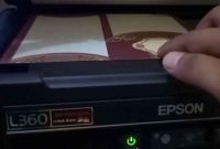 cara scan epson l360