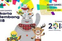 jadwal pertandingan asian games lengkap