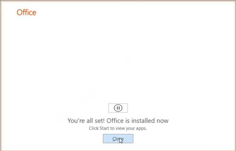 cara instal office 2019