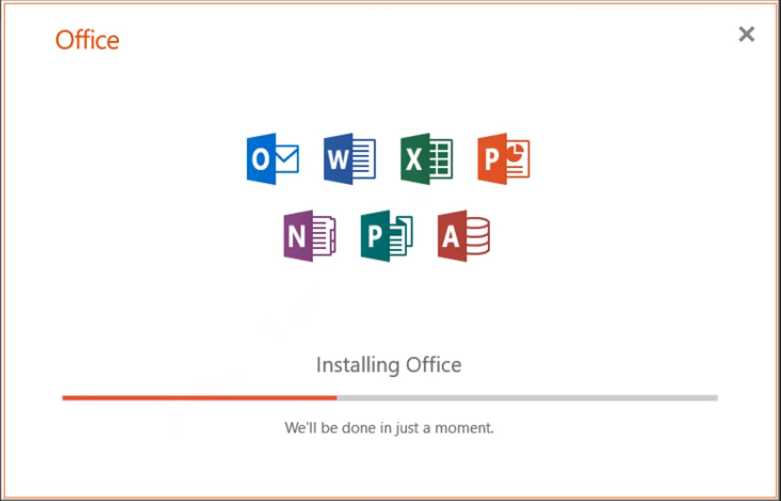 cara install office 2019